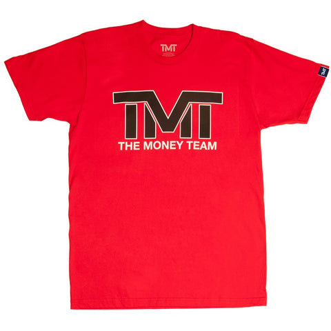 TMT The Money Team And Still Red/Black T-Shirt