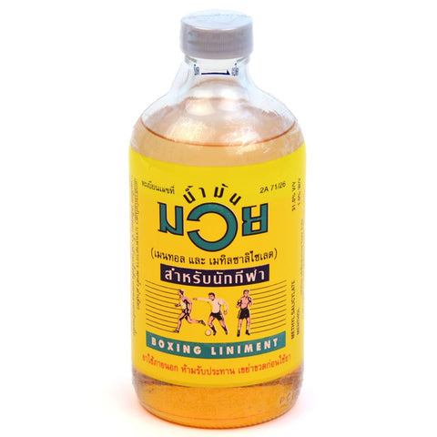 Namman Muay Thai Boxing Liniment Oil 450ml