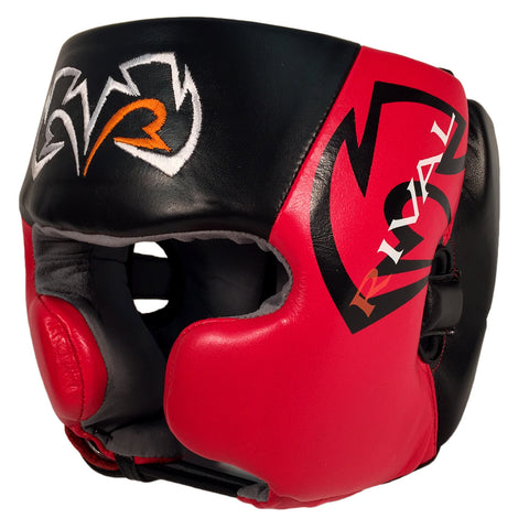 Rival Boxing RHG20 Headgear Head Guard Black/Red