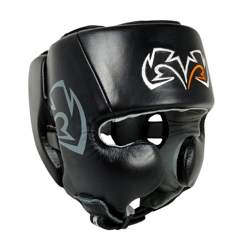 Rival Boxing Guerrero Facesaver Headgear Red//Black
