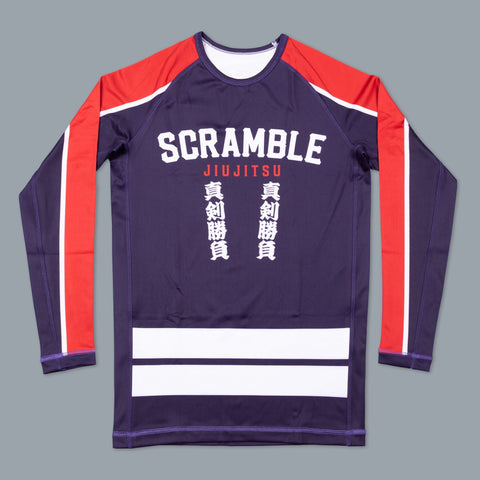 Scramble Brand canada Buke Hikeshi Rashguard Rash Guard Compression Shirt