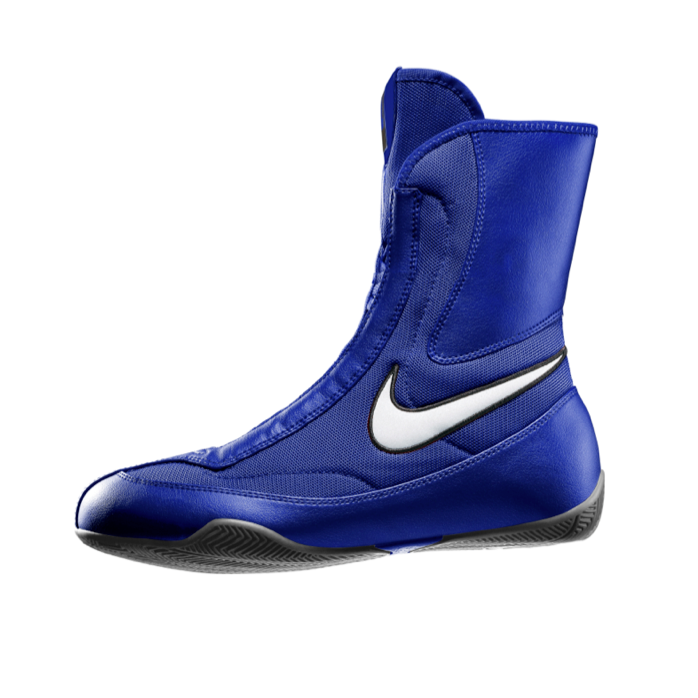 090f051135d Nike Boxing Machomai Mid Shoes Boots Blue