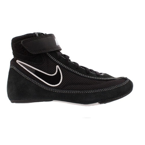Nike Wrestling Speedsweep VII Shoes Boots Black/White