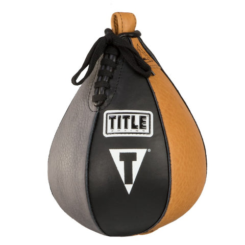 Title Boxing Genuine Leather Super Speed Bag Various Sizes