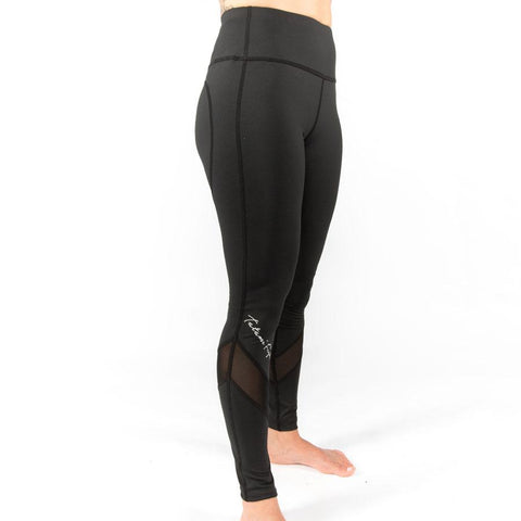 Tatami Fightwear Canada Ladies Black Script Spats Compression Pants Tights