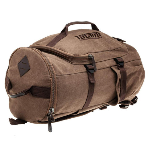 Tatami Fightwear Gym Bag Weekender Holdall Vintage Brown Back Pack