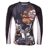 Tatami Fightwear Cyber Monkey Rash Guard Rashguard