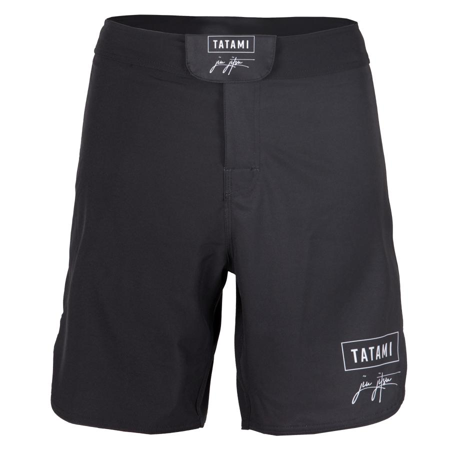 Tatami Fightwear BJJ Jiu Jitsu Signature Black Fight Shorts Edmonton