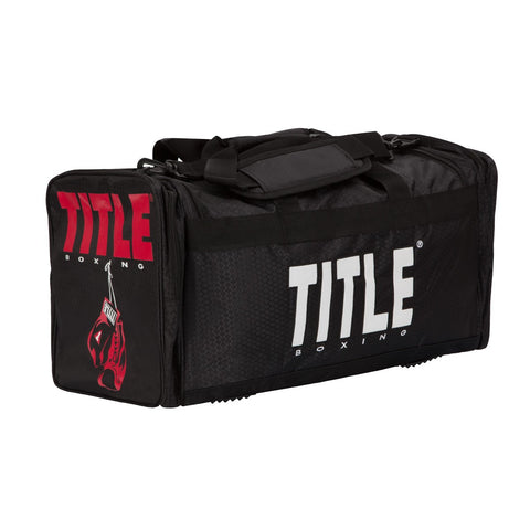 Title Boxing Deluxe Gear Duffel Equipment Gym Bag