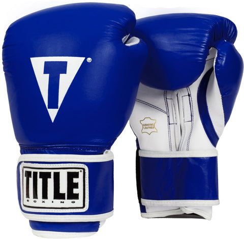 Title Boxing Gloves Edmonton Pro Style Leather