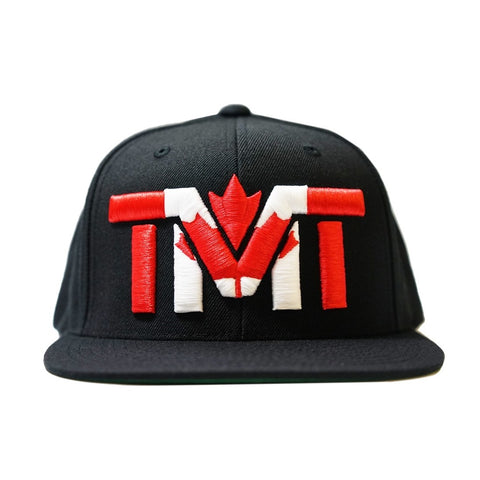 TMT The Money Team Canada Flag Hat Cap Edmonton Canada