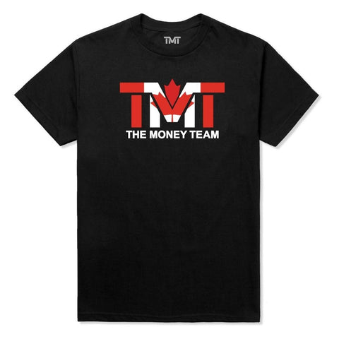 TMT The Money Team Canada Flag T-Shirt Edmonton Canada