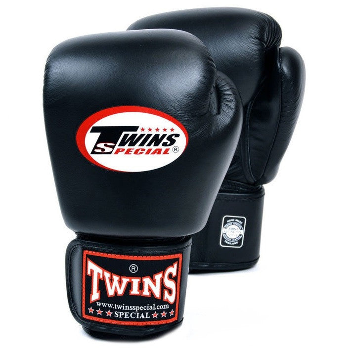 Twins Special Canada Muay Thai Boxing Gloves Edmonton Black