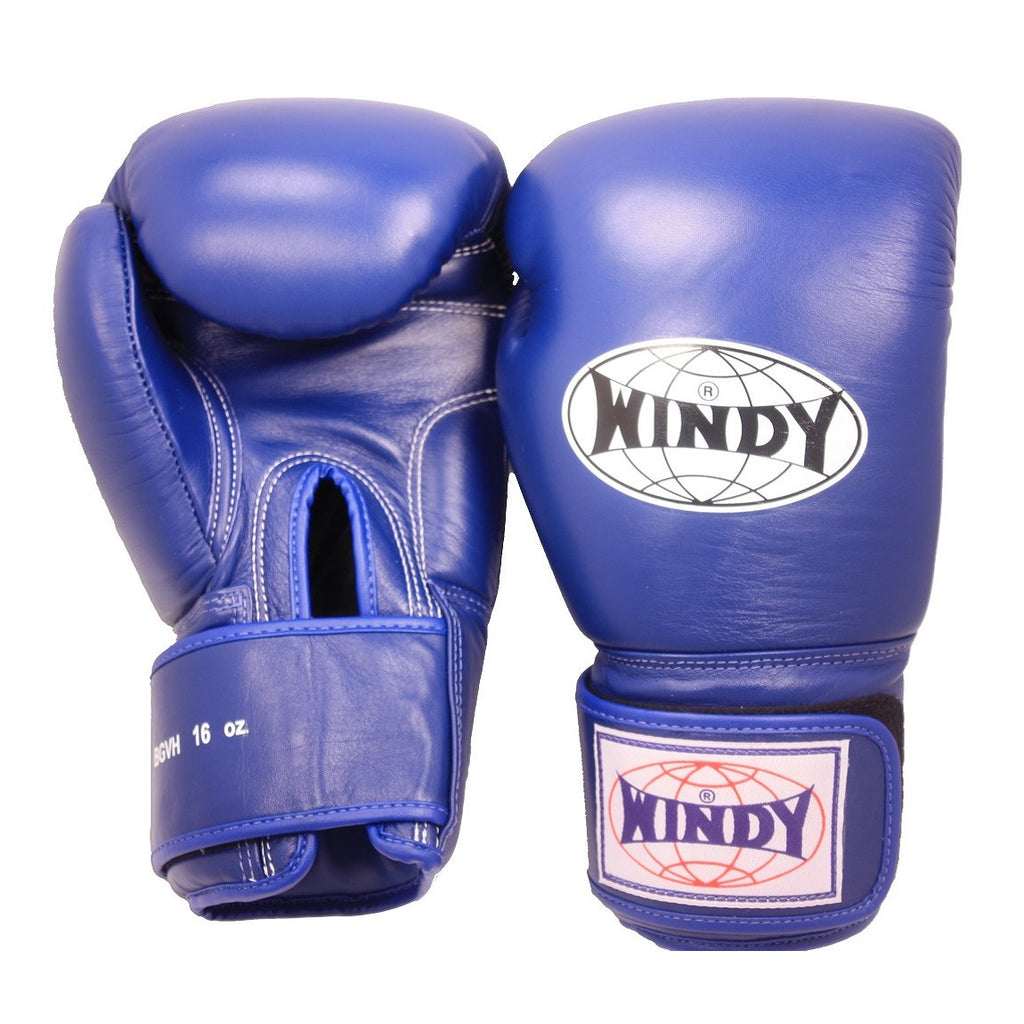 Windy Muay Thai Boxing Gloves Blue