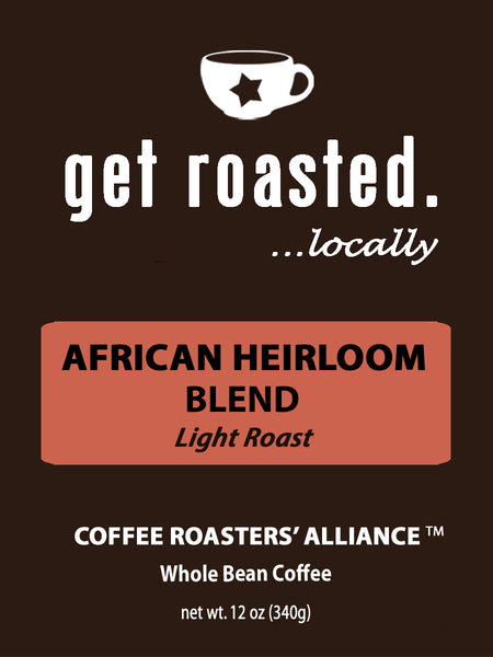 African Heirloom Blend Light Roast 12oz.