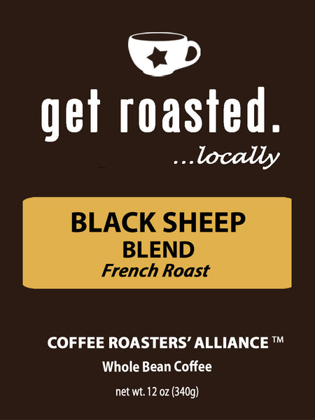 Black Sheep Blend French Roast 12oz.