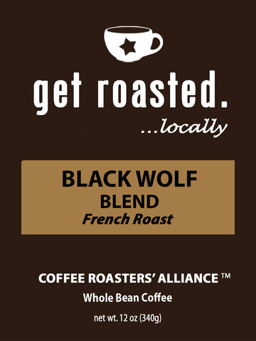 Black Wolf Blend French Roast 12oz.