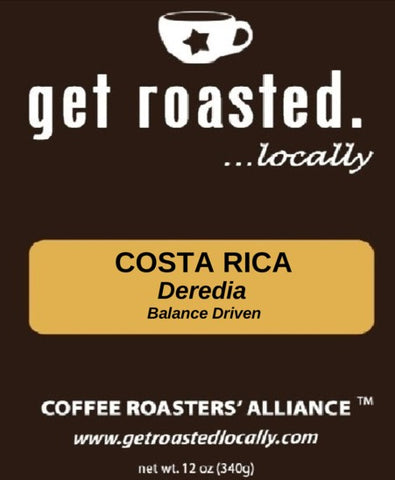 Costa Rica Deredia - a Balance-Driven Coffee 12oz