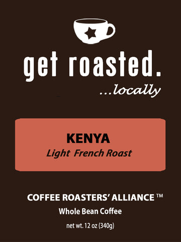 Kenya Light French Roast 12oz.