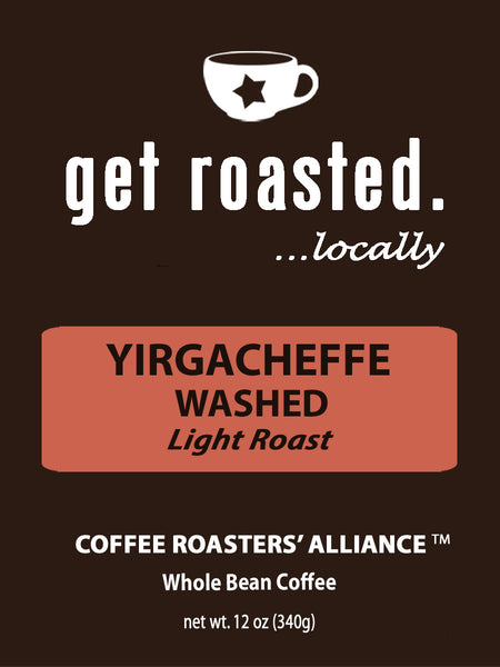 Ethiopian Yirgacheffe Washed 12oz.