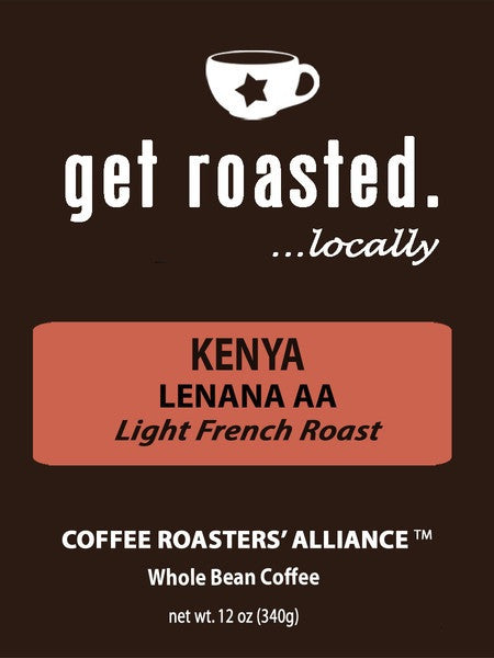 Kenya Lenana AA Light French Roast 12oz.
