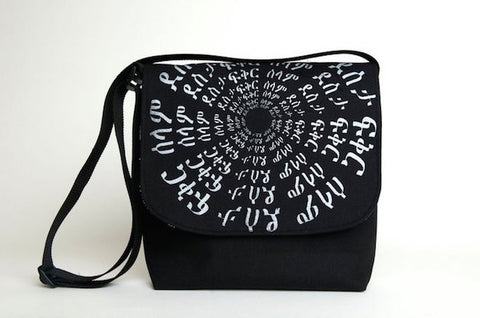 Messenger Bag - Circle Design