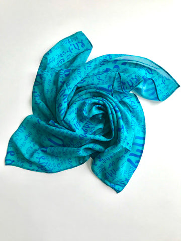 Women's Square Chiffon Scarves