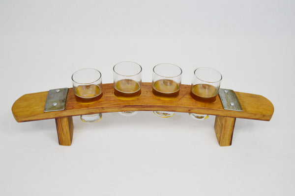 Beer Flight Wine Barrel Taster