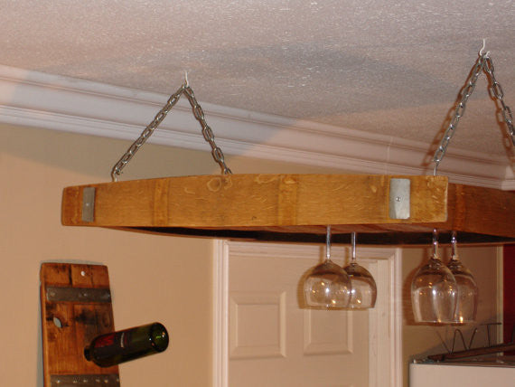 Over Table Wine Glass Holder and Wine Storage