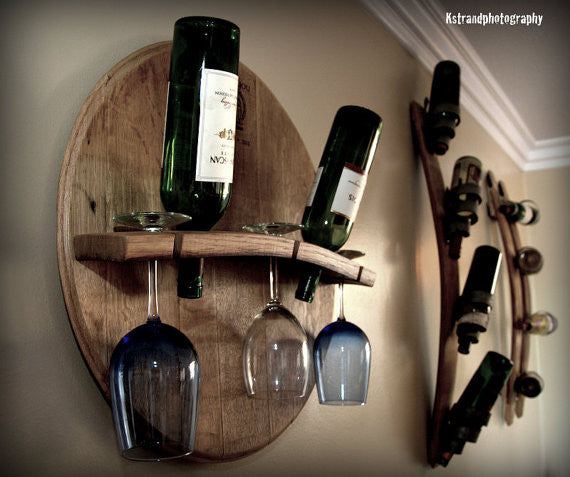 Wine Glass & Bottle Holder