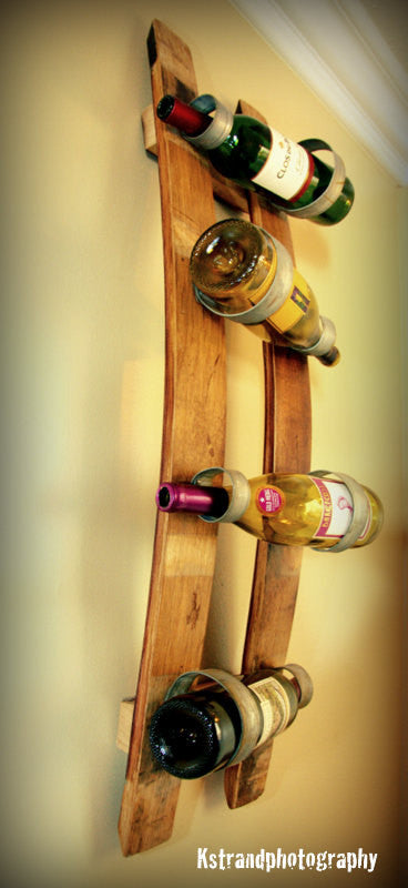 Double Stave Wine Bottle Holder Free shipping