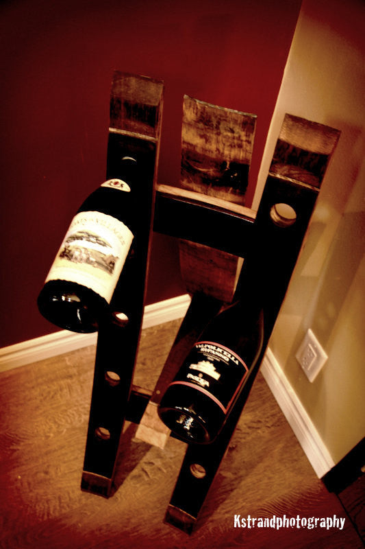 Floor Standing Wine Holder