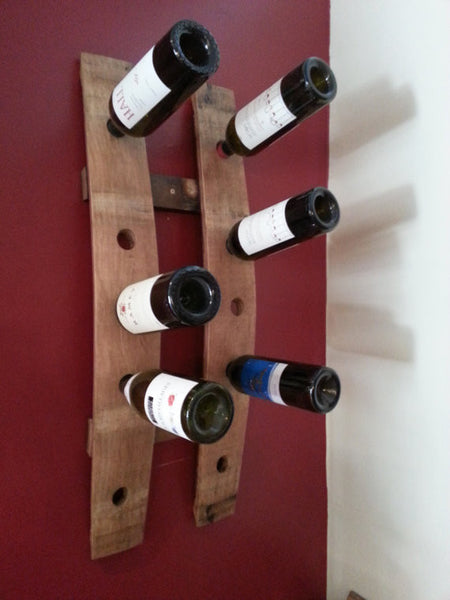 Napa Barrel Wine Rack