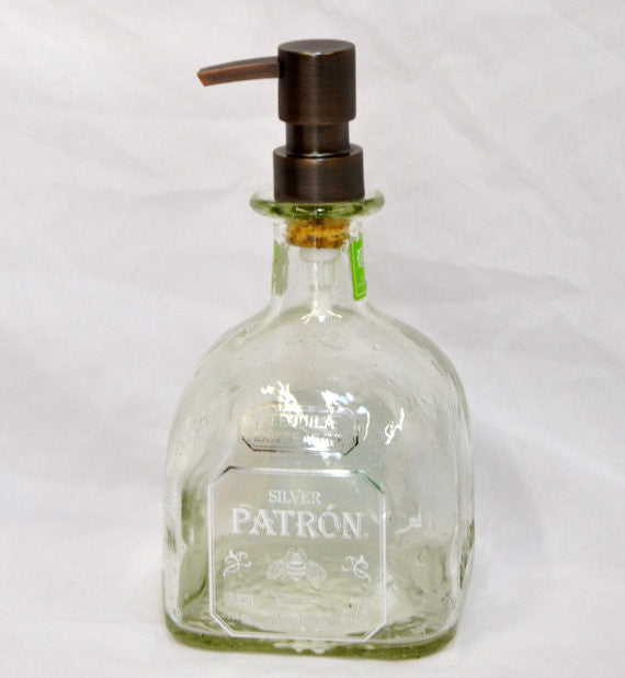 Patron tequilla soap dispenser