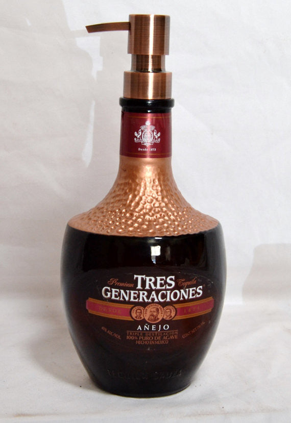 Soap Dispenser- Tres Generaciones Tequila