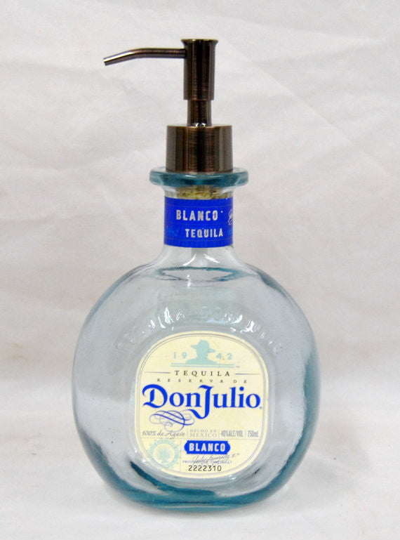 Don Julio Blanco Tequila Soap Dispenser