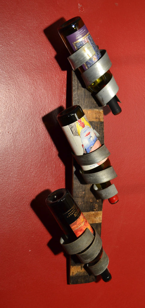 Curly Q Junior Wine Bottle holder