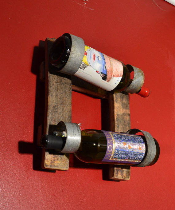 Double stave Mini Wine bottle holder