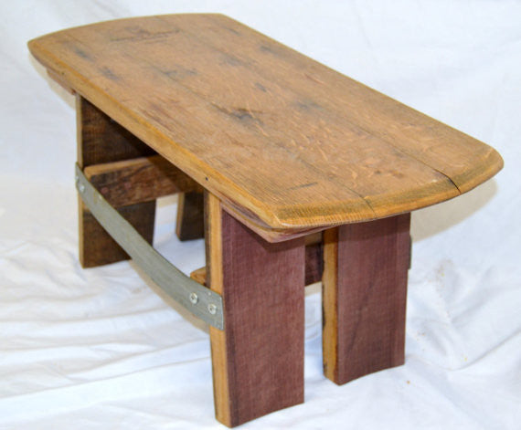 Barrel Head Foot Stool