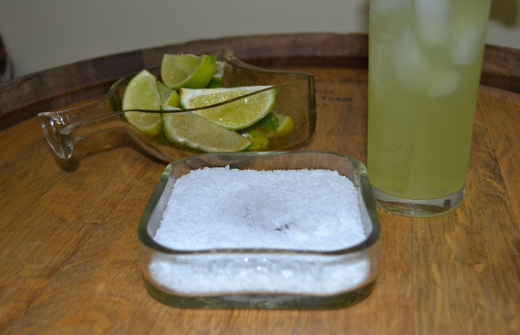 Patron Serving dish and Margarita salt bowl