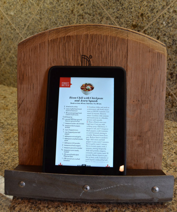 iPad/Cook Book Display