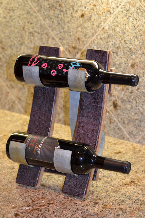 Table Top Wine Bottle Display