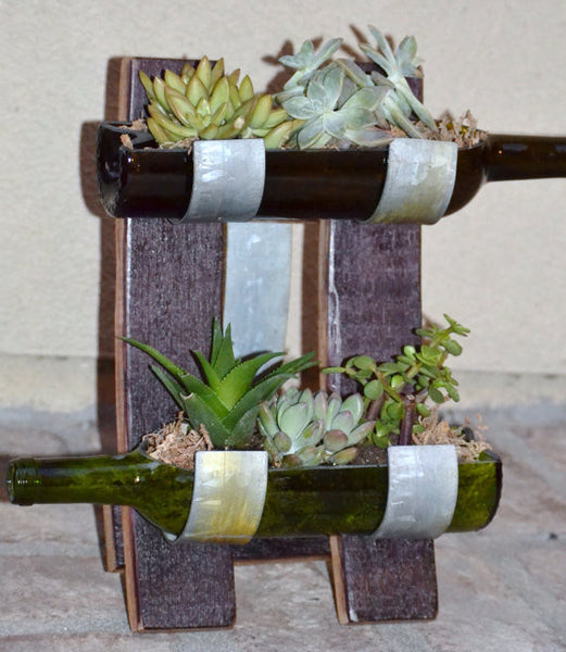 Table Top Garden Succulent Display