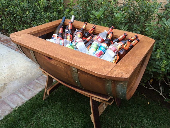 Wine Barrel Half Cooler