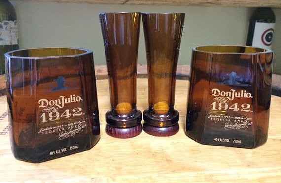 Don Julio 1942 gift set (2 rocks, 2 shot glasses)