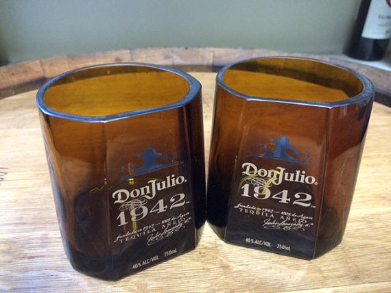 Don Julio 1942 Tequila Rock Glasses set of 2