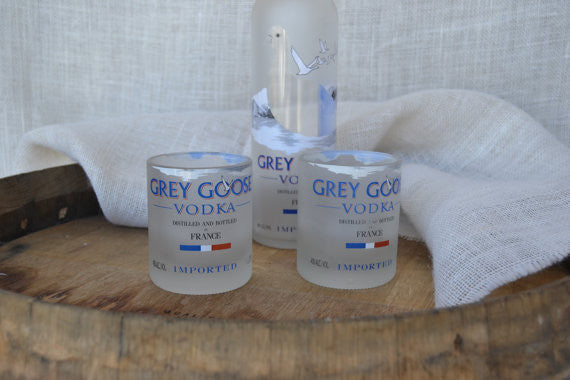 4 Grey Goose Rocks Glasses