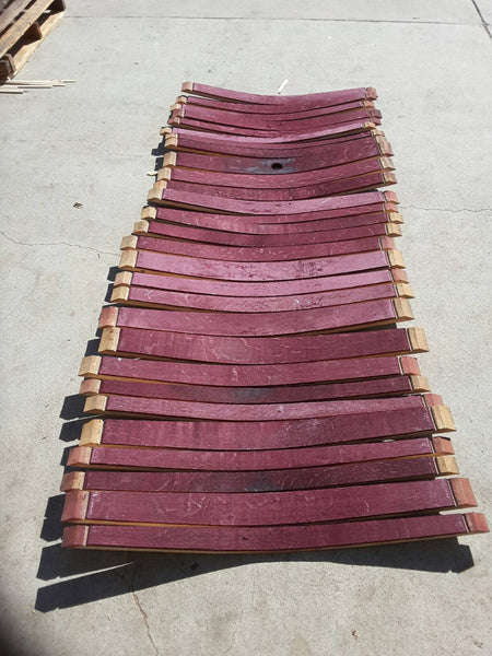 Wine barrel staves  Full barrels worth/Napa wine barrel approximately 26-28 staves