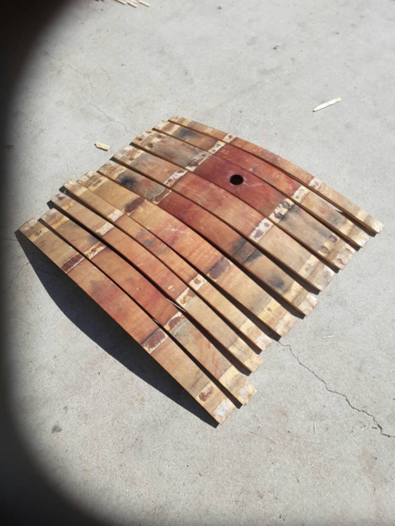 Wine barrel staves (set of 10)  Craft supplies/Barrel pieces/Napa wine barrels