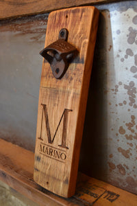 Personalized Initial Beer Bottle Opener